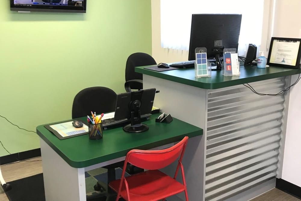 Storage Lasing Office at Storage Etc... Canoga Park
