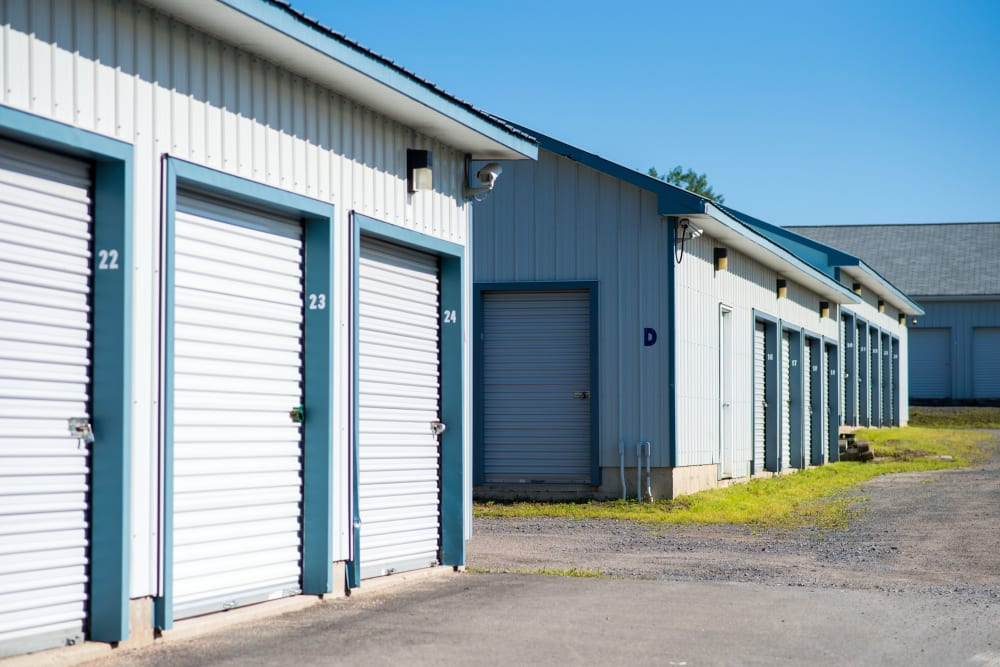 Loading doors at Apple Self Storage - Fredericton North in Fredericton, New Brunswick