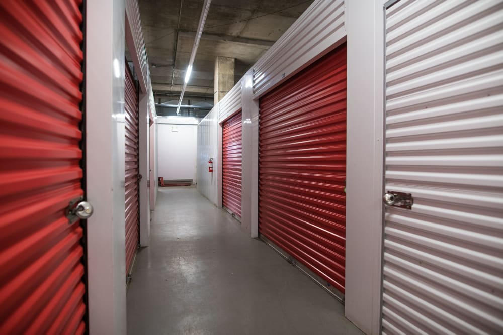 Inside of Apple Self Storage - Halifax Downtown in Halifax, Nova Scotia
