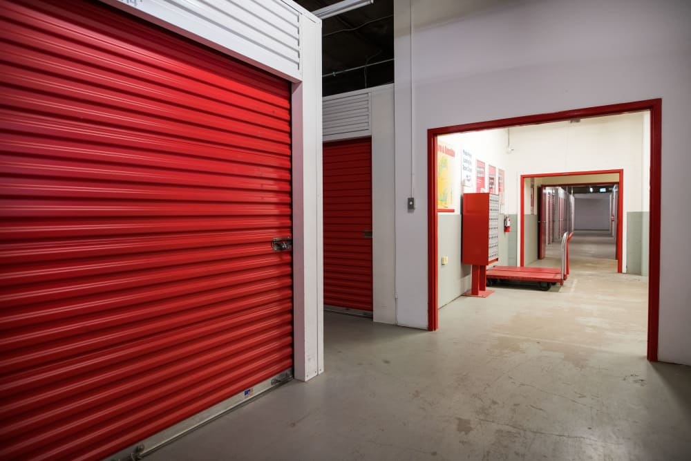 Large loading door at Apple Self Storage - Halifax Downtown in Halifax, Nova Scotia