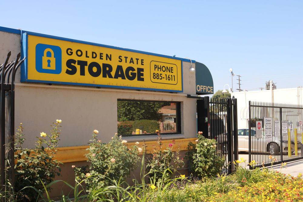Golden State Storage facility in Northridge