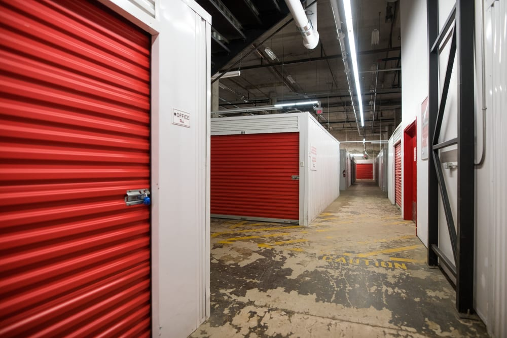Interior units are available at Apple Self Storage - Halifax Westend in Halifax, Nova Scotia