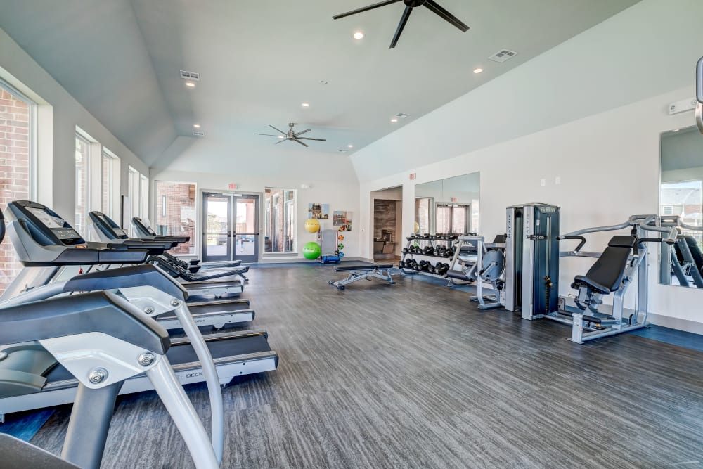 The Emerson at Forney Marketplace offers a fitness center