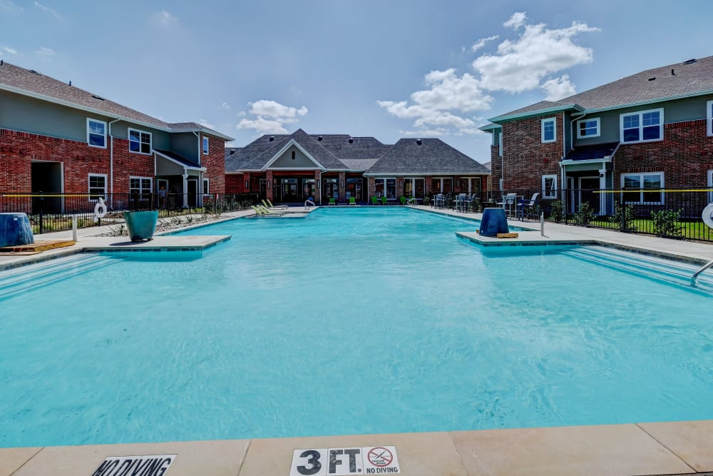 The Emerson at Forney Marketplace offers a pool