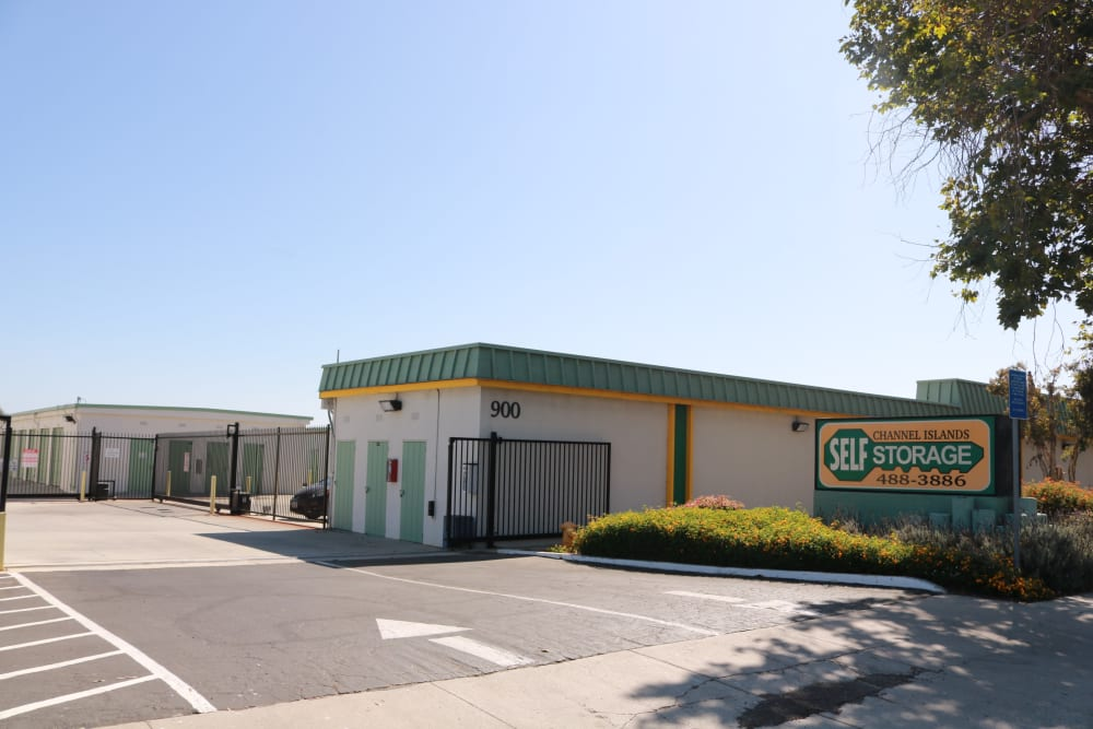 Exterior view of Channel Islands Self Storage in Port Hueneme, CA