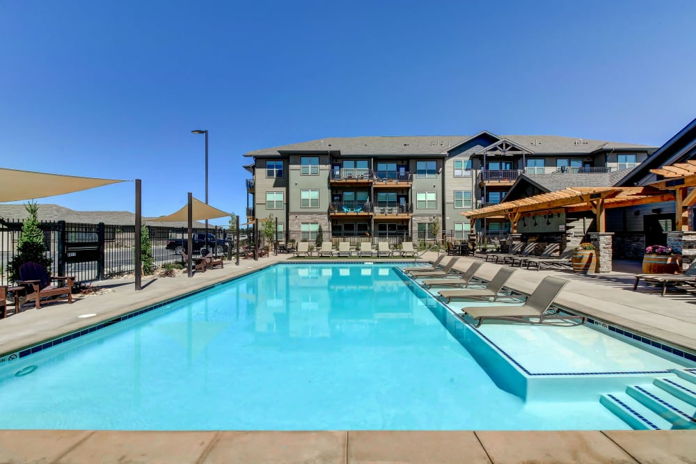 Our Apartments in Timnath, Colorado offer a Swimming Pool