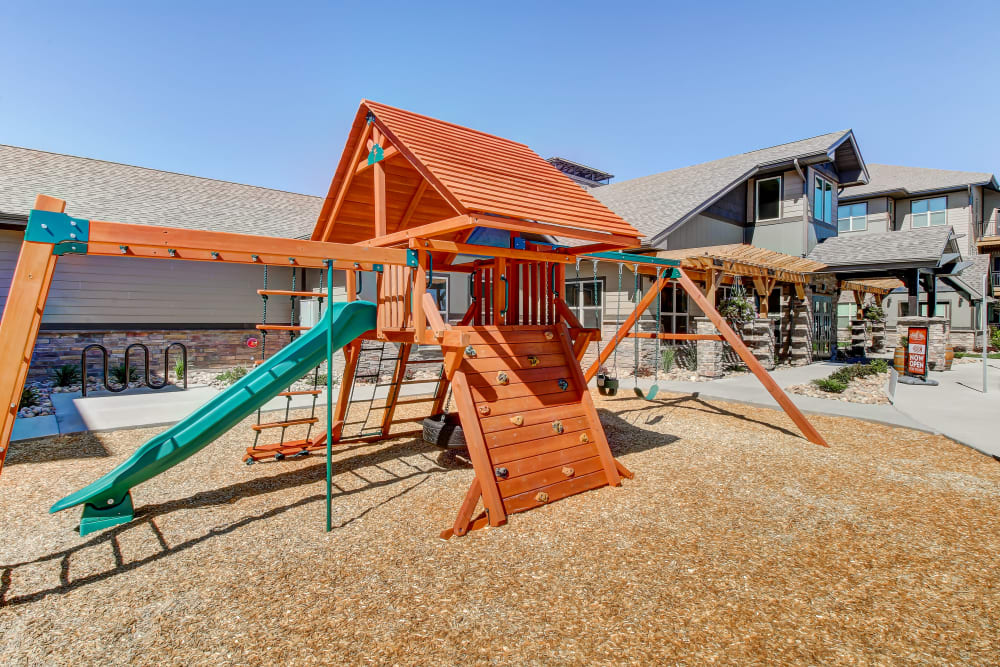 Playground at Timnath Trail at Riverbend Apartment Homes in Timnath, Colorado