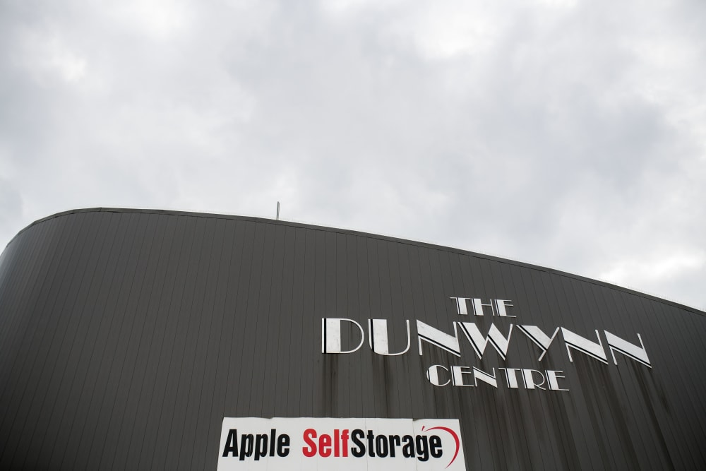 The building at Apple Self Storage - Mississauga East in Mississauga, Ontario