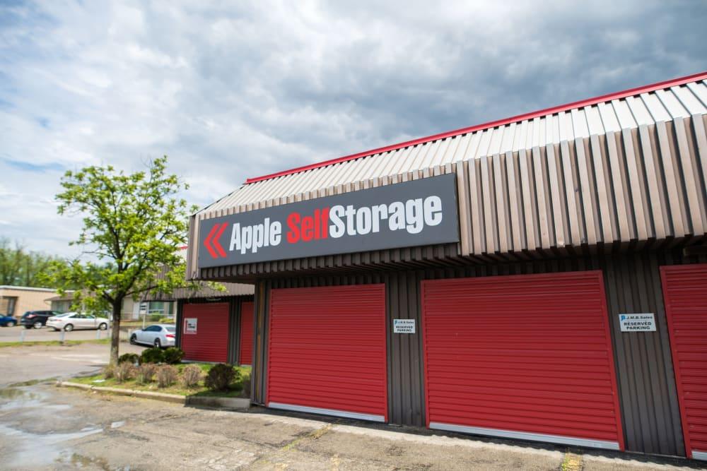 Exterior doors at Apple Self Storage - Waterloo in Waterloo, Ontario