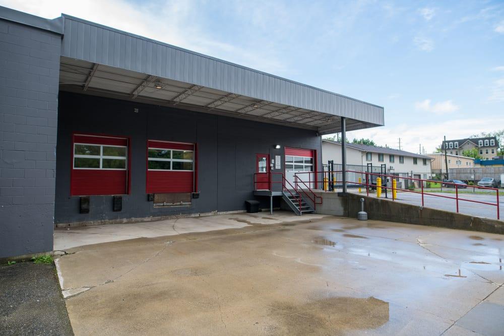 Loading doors at Apple Self Storage - Waterloo in Waterloo, Ontario
