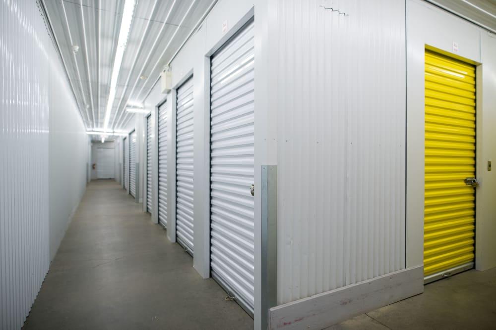 Inside units at Apple Self Storage - Waterloo in Waterloo, Ontario