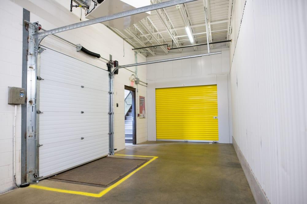 Wide unloading spaces at Apple Self Storage - Waterloo in Waterloo, Ontario