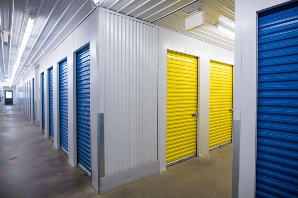 Indoor storage units at Apple Self Storage - Waterloo in Waterloo, Ontario