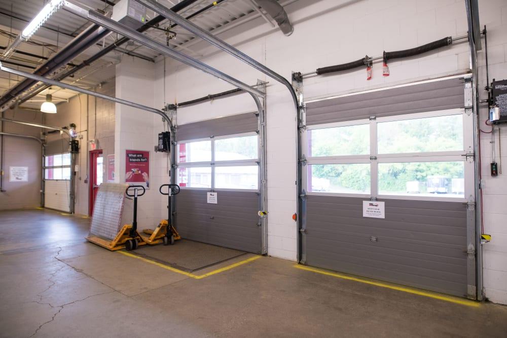 Conveniently large loading doors at Apple Self Storage - Waterloo in Waterloo, Ontario
