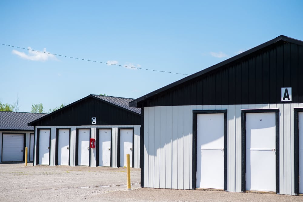 Units come in a variety of sizes at Bronco Mini Storage in Welland, Ontario