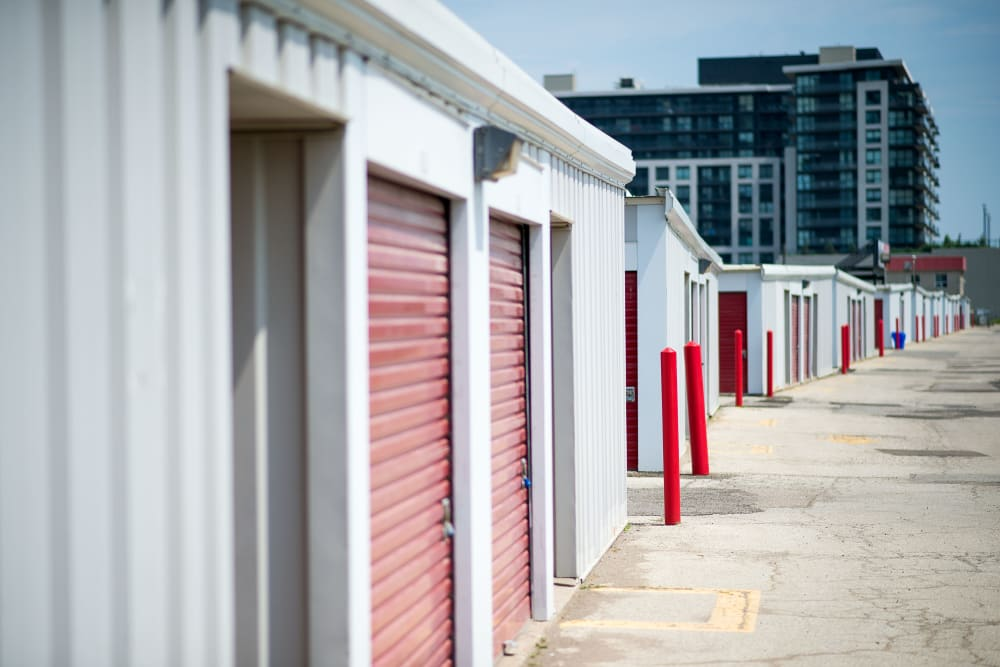 Units in a variety of sizes at Apple Self Storage - Toronto - Danforth in Toronto, Ontario