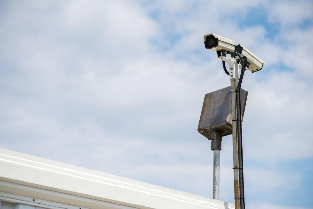 Security camera at Apple Self Storage - Toronto - Danforth in Toronto, Ontario
