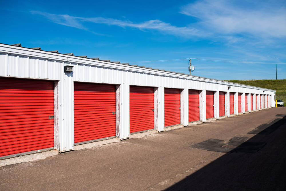 Apple Self Storage - Moncton in Moncton, New Brunswick, offers a variety of exterior storage units