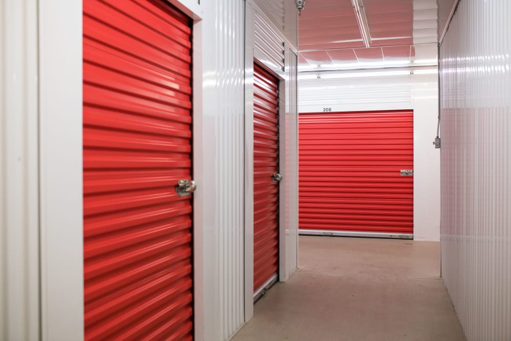 Temperature-controlled indoor storage units at Apple Self Storage - Moncton in Moncton, New Brunswick
