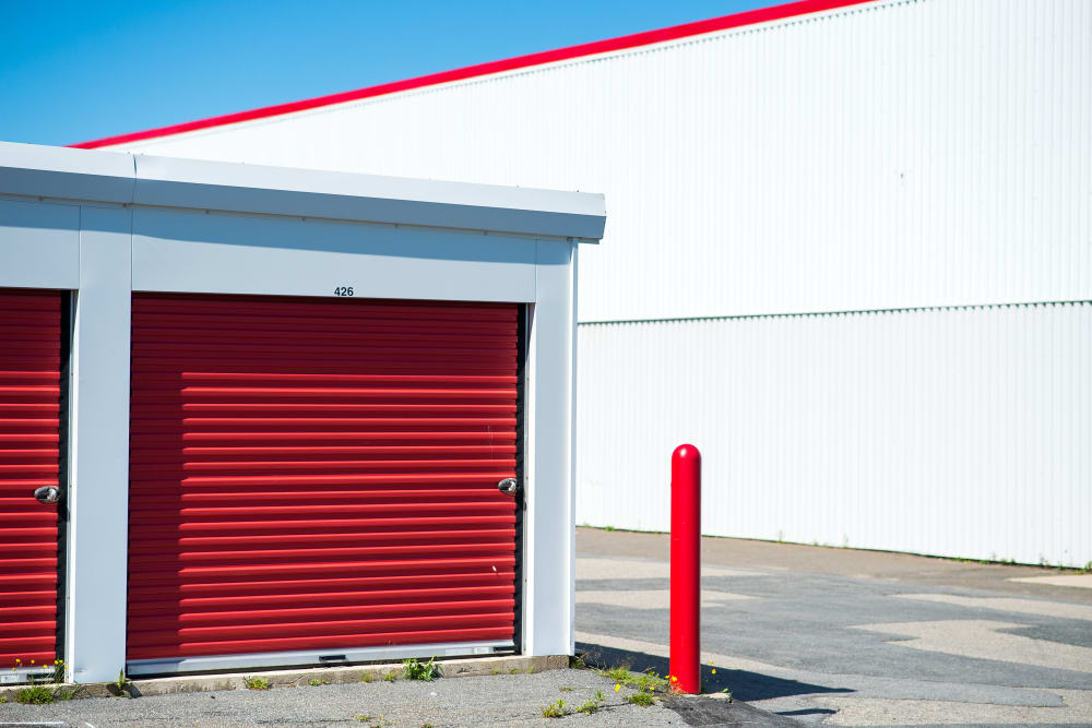Wide driveways at Apple Self Storage - Saint John East in Saint John, New Brunswick
