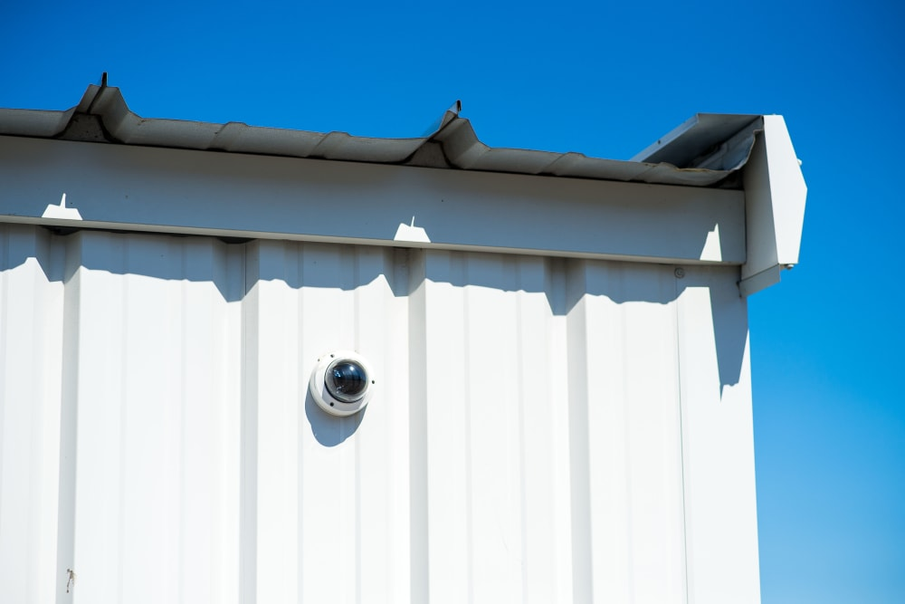 Security camera at Apple Self Storage - Saint John East in Saint John, New Brunswick