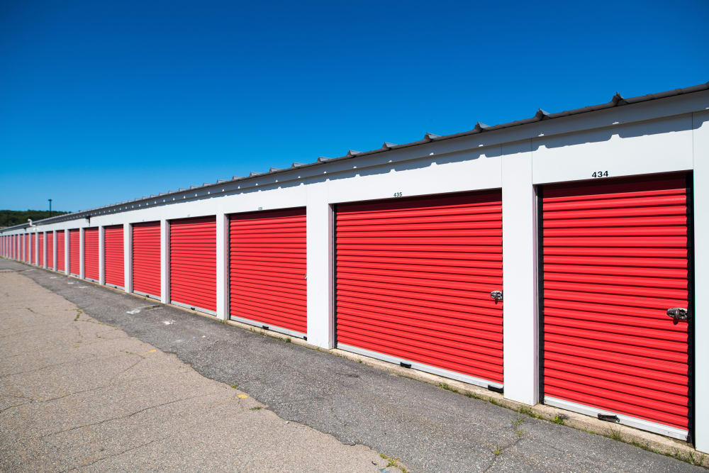 Units in a variety of sizes at Apple Self Storage - Saint John East in Saint John, New Brunswick