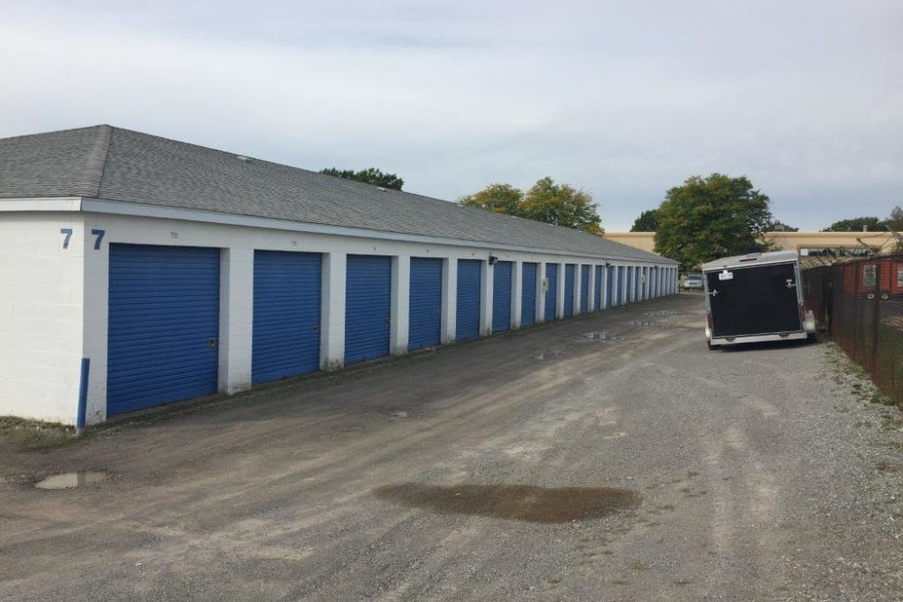 Large driveways at Apple Self Storage - Niagara Falls - Oakwood in Niagara Falls, Ontario