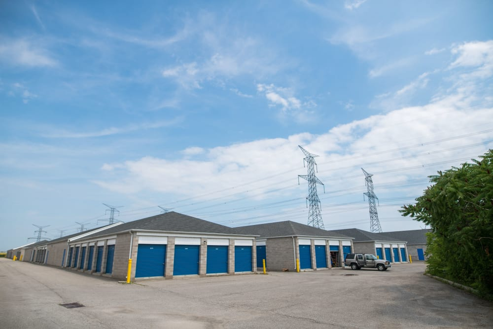 Large driveways at Apple Self Storage - Bowmanville in Bowmanville, Ontario