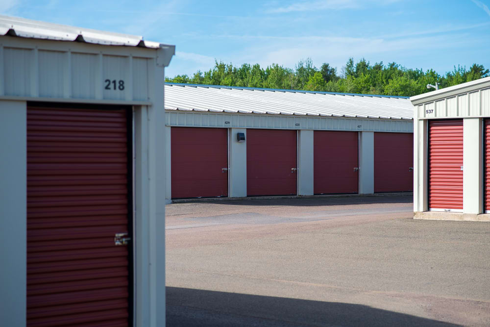 Lighthouse Self Storage in Moncton, New Brunswick, offers a variety of sizes of units