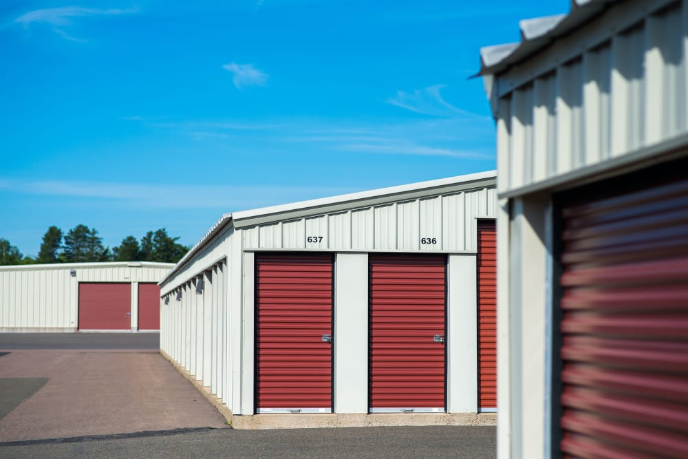 Units of all sizes can be found at Lighthouse Self Storage in Moncton, New Brunswick