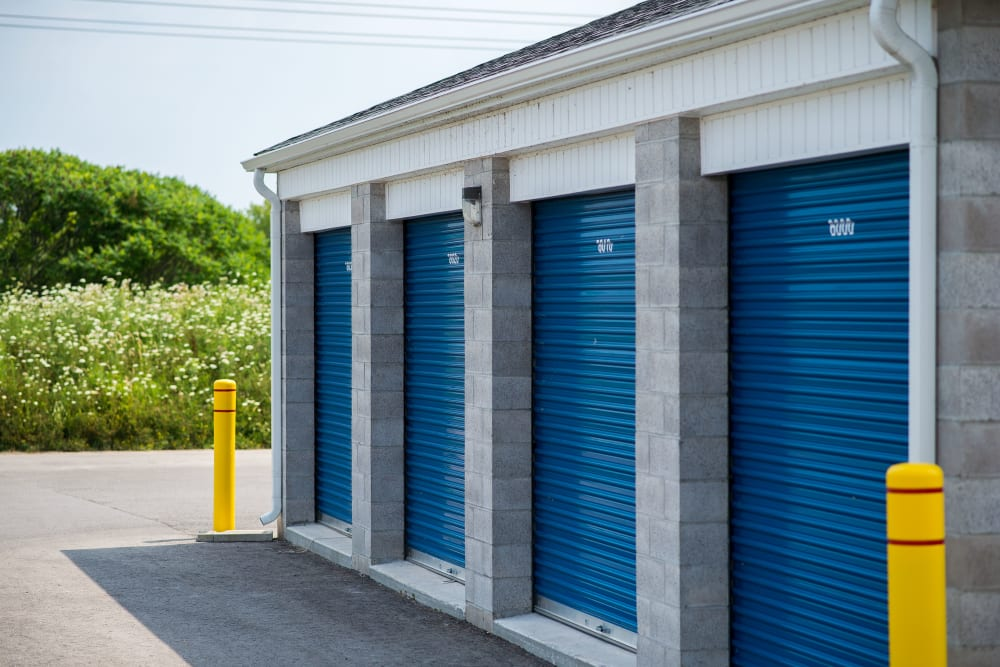 Apple Self Storage - Bowmanville in Bowmanville, Ontario, offers units in a variety of sizes