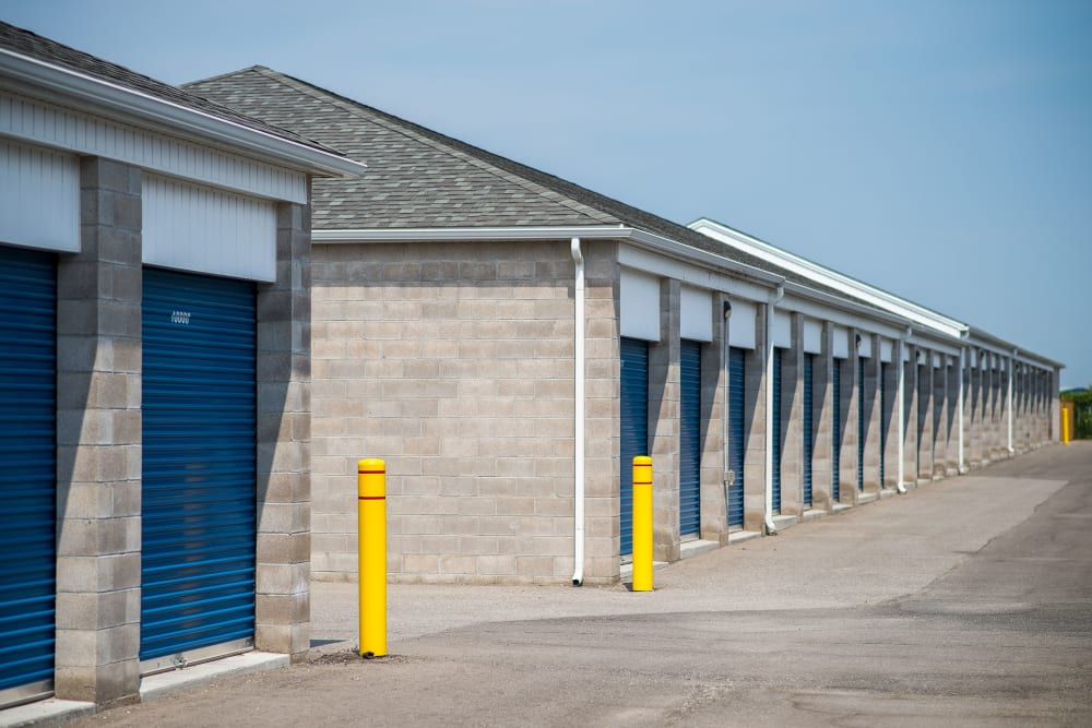 Units in a variety of sizes at Apple Self Storage - Bowmanville in Bowmanville, Ontario