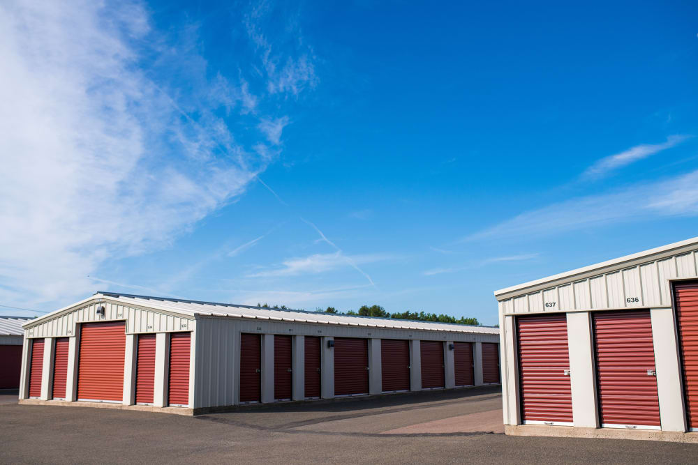 Lighthouse Self Storage in Moncton, New Brunswick, has ample driveway space