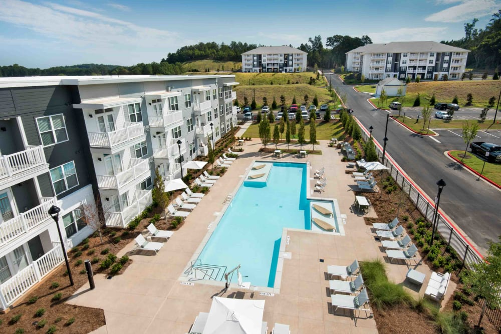 Enjoy Apartments with a Swimming Pool at The Barrett