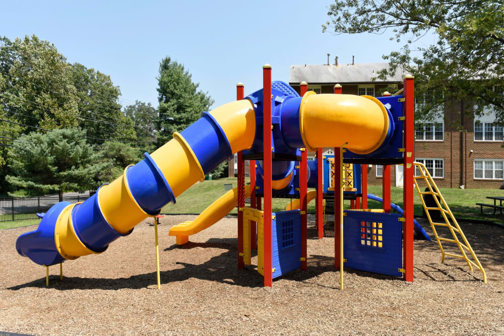 Onsite playground at Eagle Rock at Quiet Waters in Annapolis, Maryland