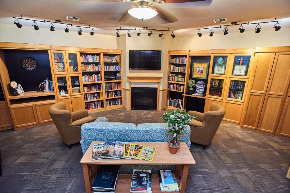 Media room at Arbors Memory Care in Sparks, Nevada