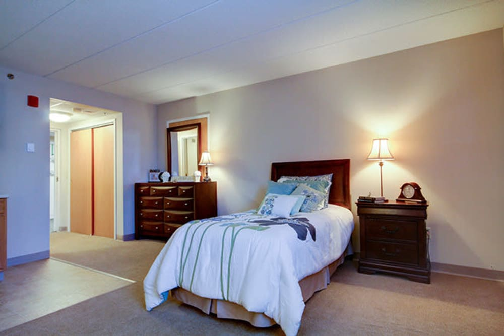 Bedroom at Anchor Bay at Greenwich in East Greenwich, Rhode Island