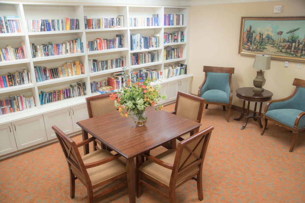Library at Brookridge Heights in Marquette, Michigan
