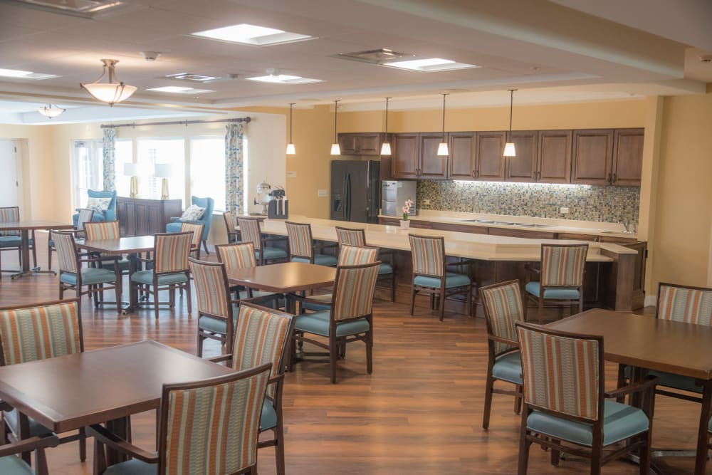 Dining room at Brookridge Heights