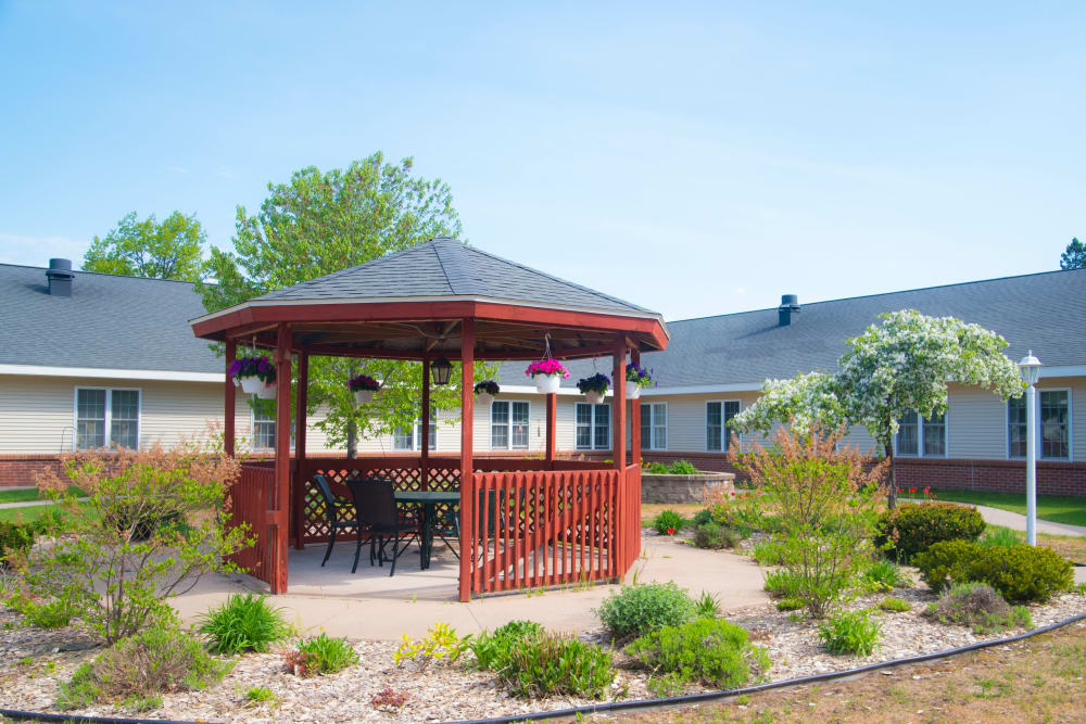 Gazebo at Brookridge Heights in Marquette, Michigan