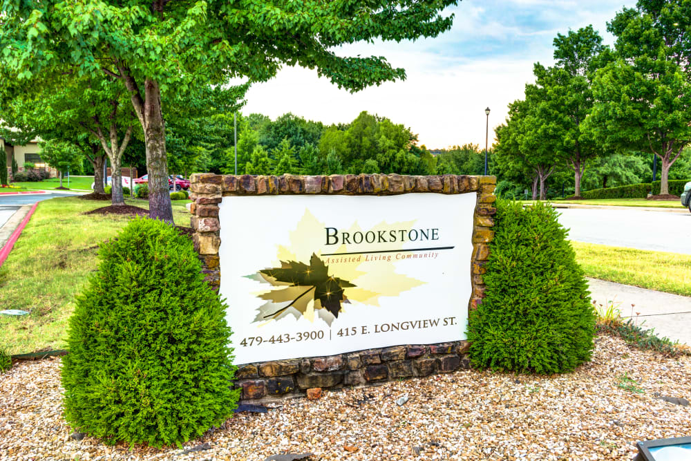 Welcome to Brookstone Assisted Living Community in Fayetteville, Arkansas