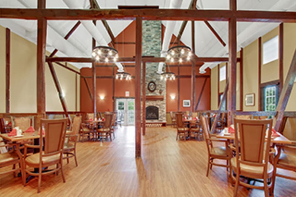 Quality dining experience at The Haven at Springwood in York, Pennsylvania