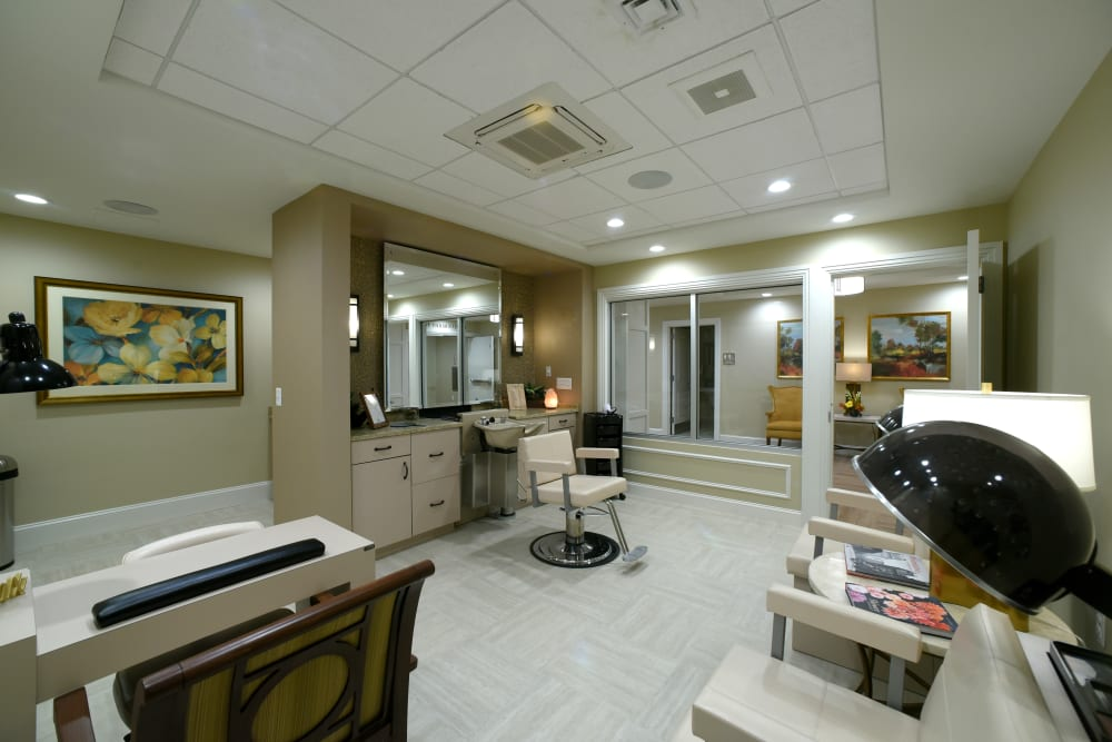 Onsite salon at Symphony at Cherry Hill in Cherry Hill, New Jersey