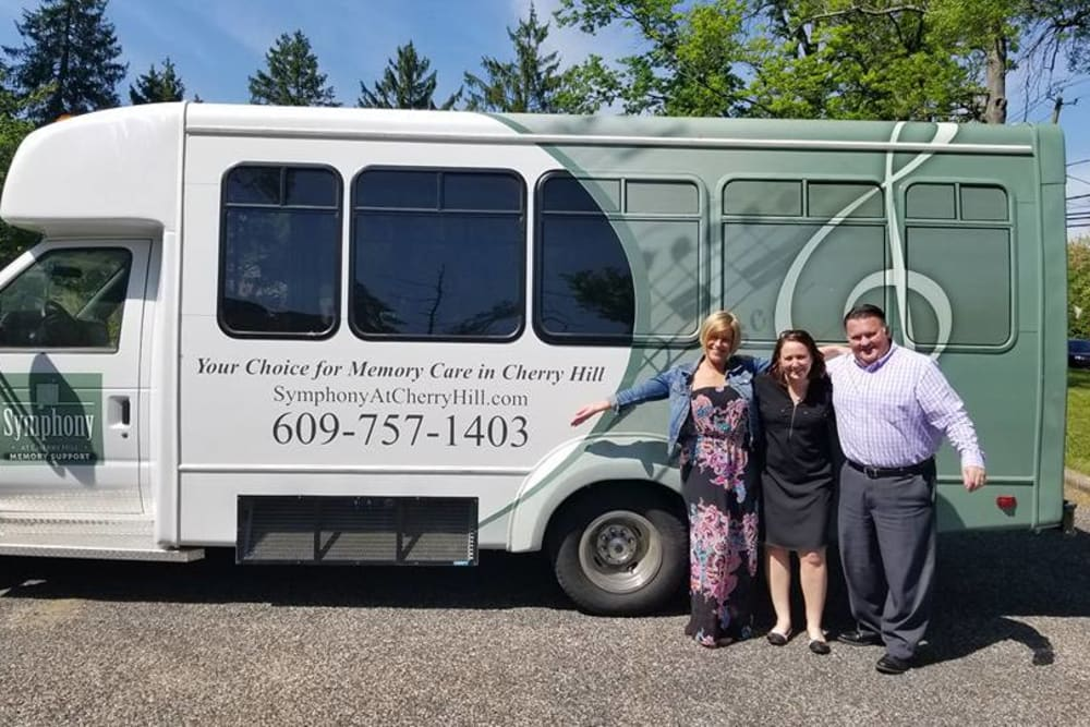Transportation van for Symphony at Cherry Hill in Cherry Hill, New Jersey.