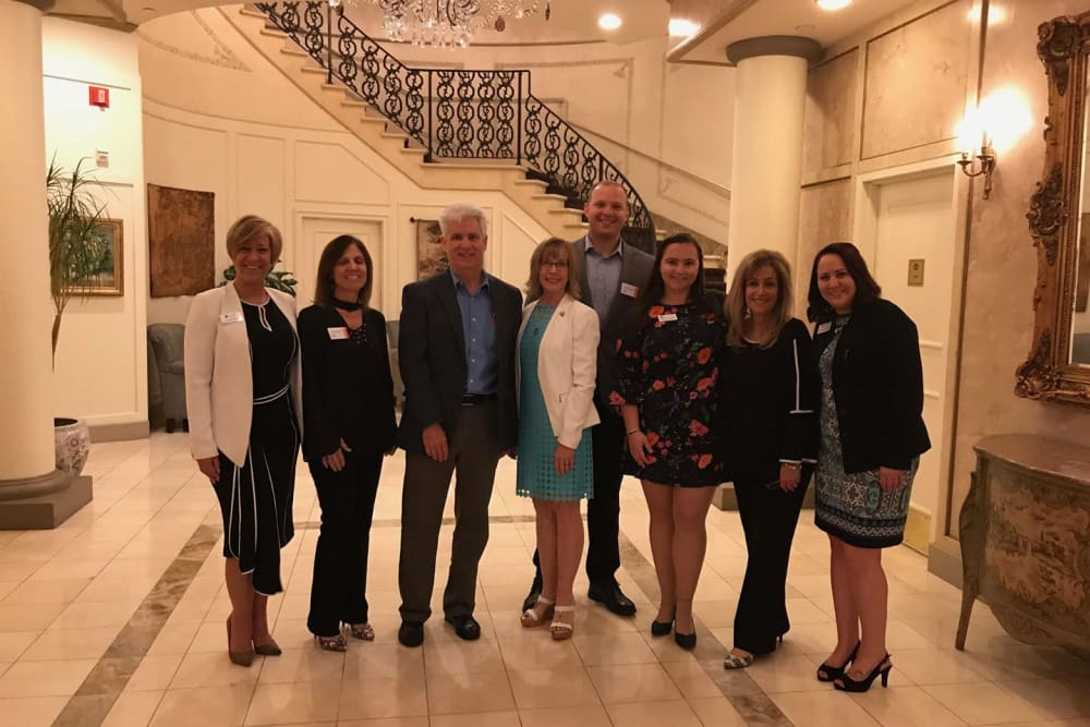 A few of our staff members at Symphony at Cherry Hill in Cherry Hill, New Jersey.