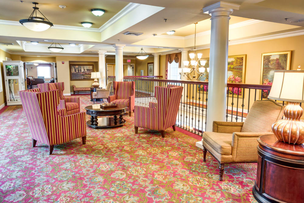Common area at Symphony Manor in Baltimore, Maryland