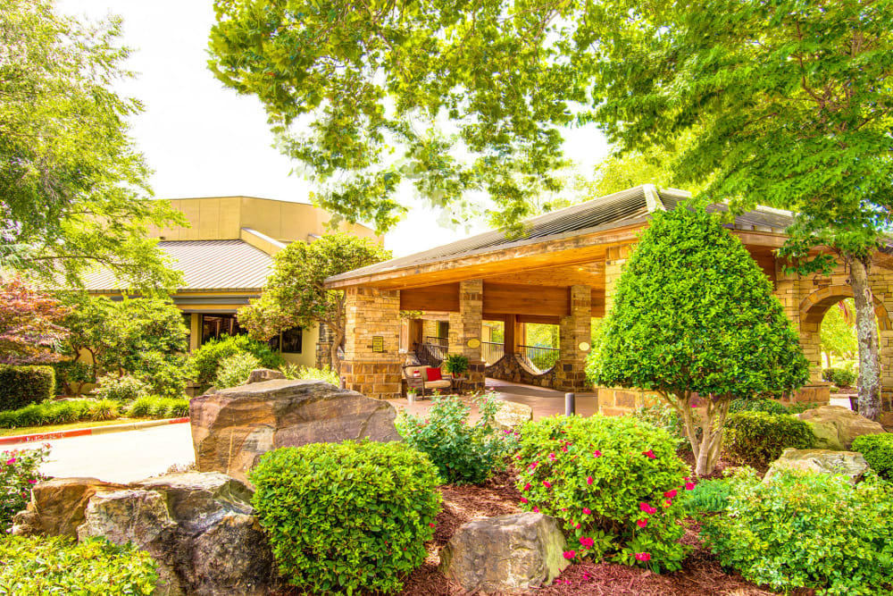 Exterior of The Atrium at Serenity Pointe in Hot Springs, Arkansas