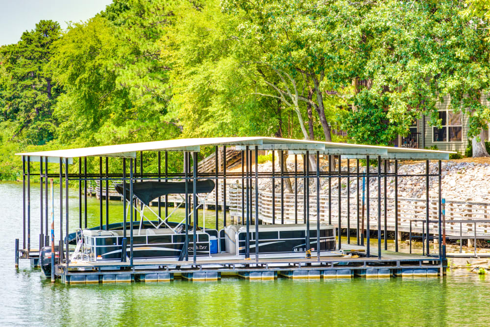 Boat launch at The Atrium at Serenity Pointe in Hot Springs, Arkansas