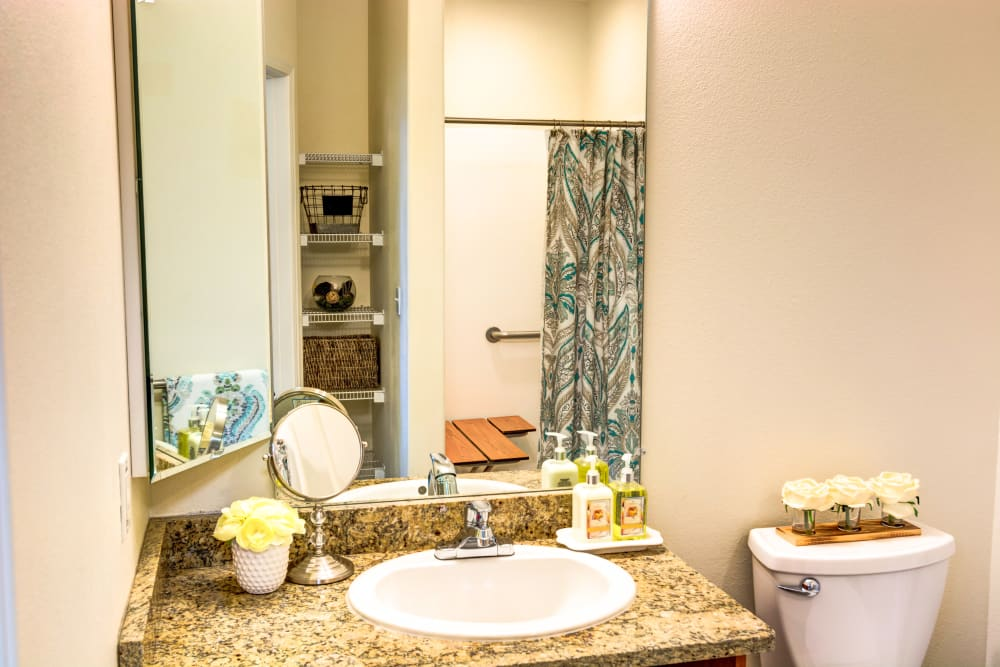 Spacious private bath at The Wentworth at Coventry in Salt Lake City, Utah
