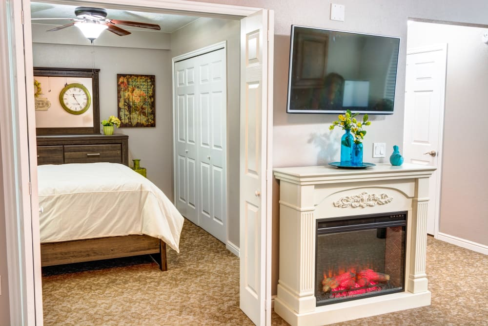 Model unit at The Wentworth at the Meadows in Saint George, Utah